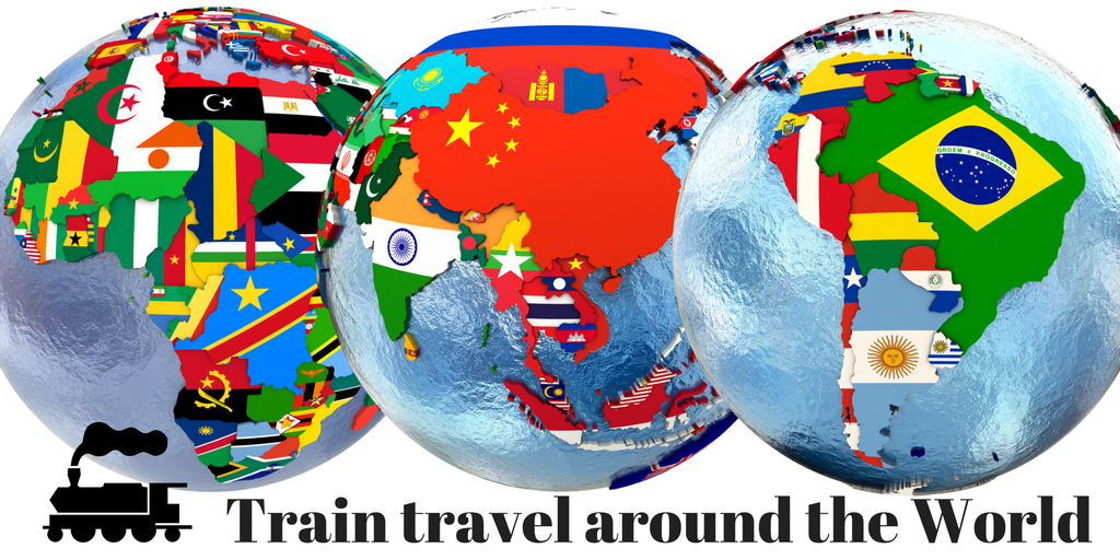 train travel around the world