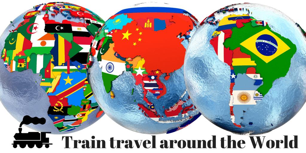 train travel around the world