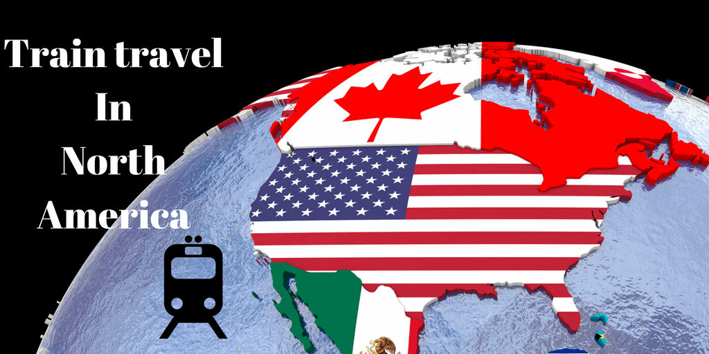 Train travel in North America