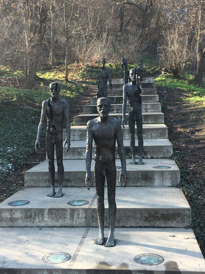 Prague - the Memorial to the victims of Communism