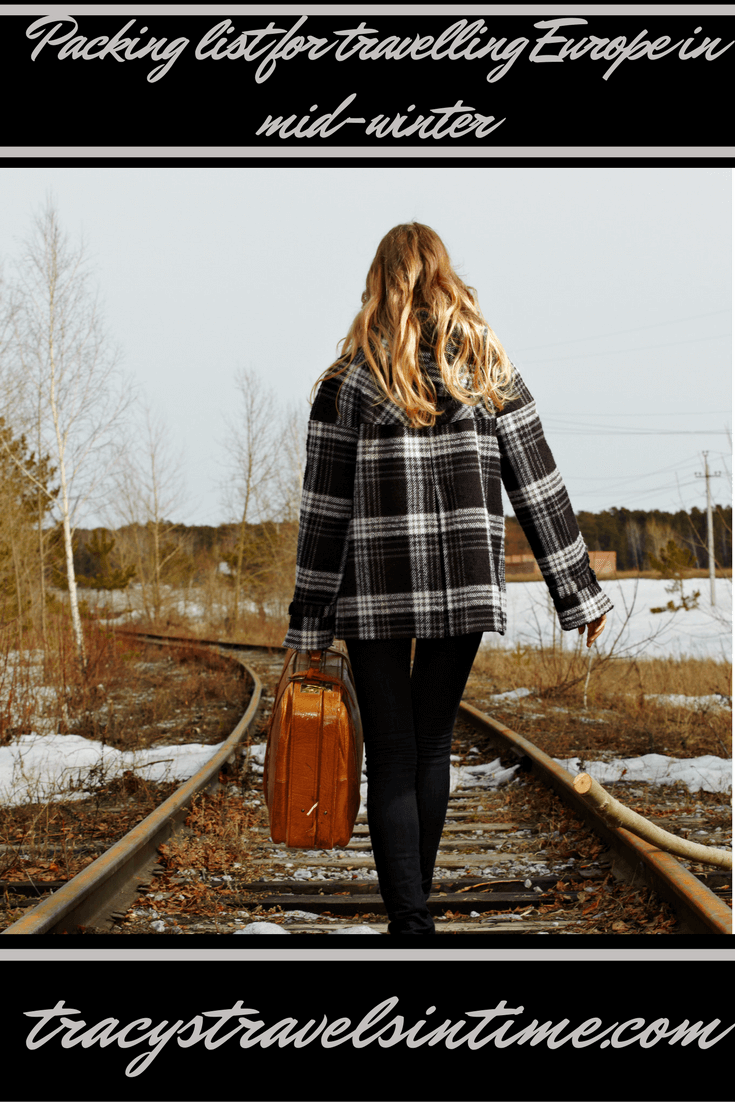 The Ultimate packing checklist & tips to travel through Europe in Winter featured by top international travel blogger, Tracy's Travels in Time