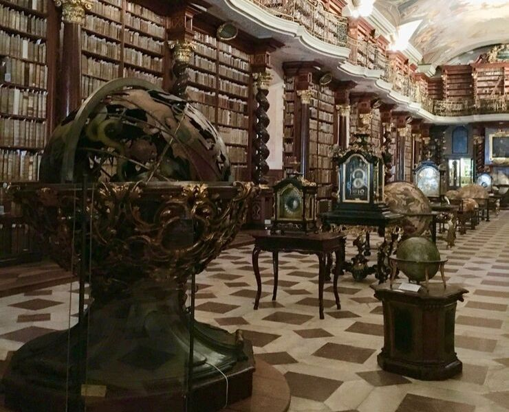 The Klementinum and Baroque Library