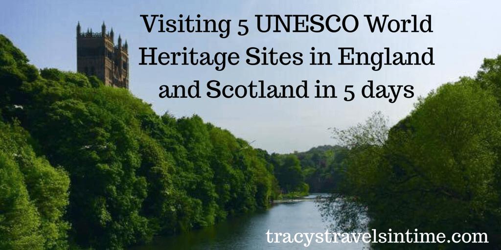 5 UNESCO World heritage sites