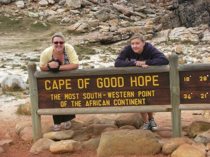 Cape Point sign in South Africa