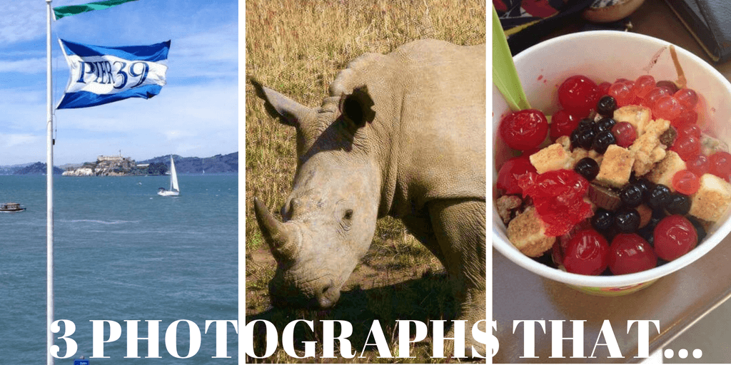 3 photographs that