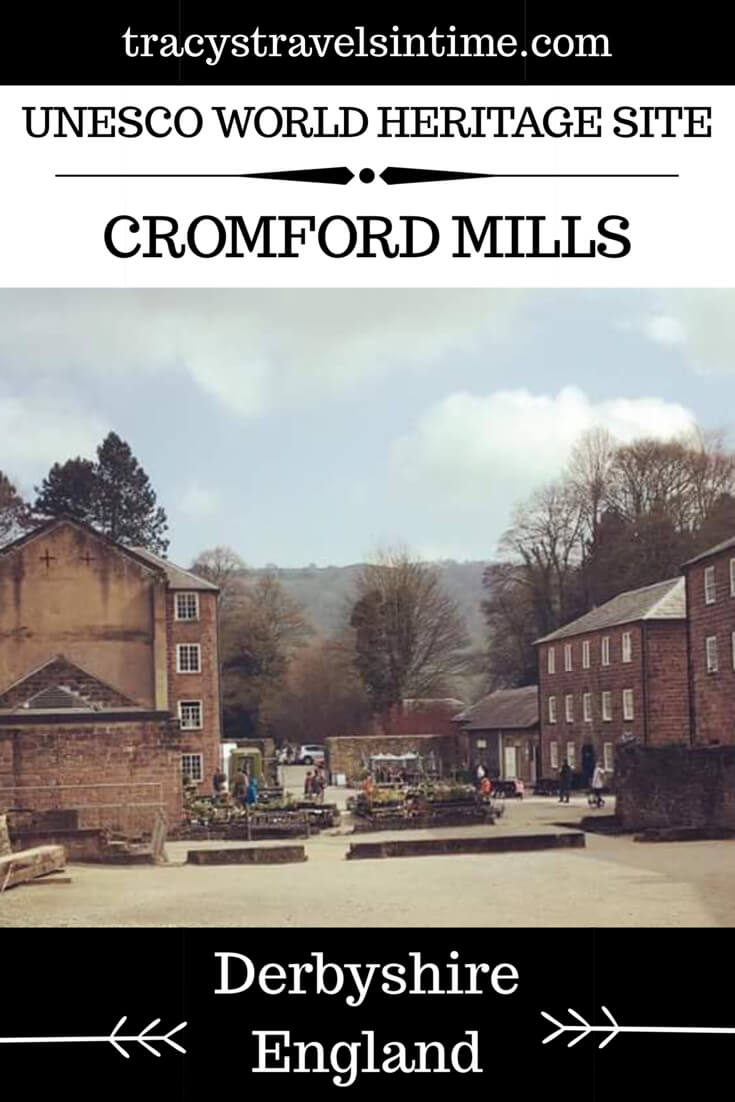 Cromford Mill a UNESCO World Heritage Site in England