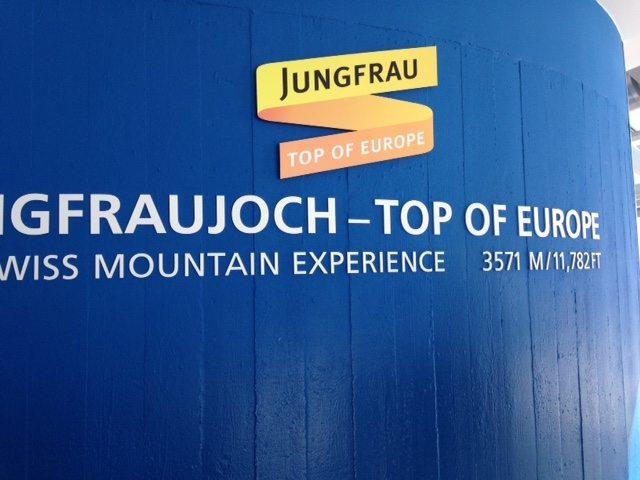 Top of Europe - Jungfraujoch train