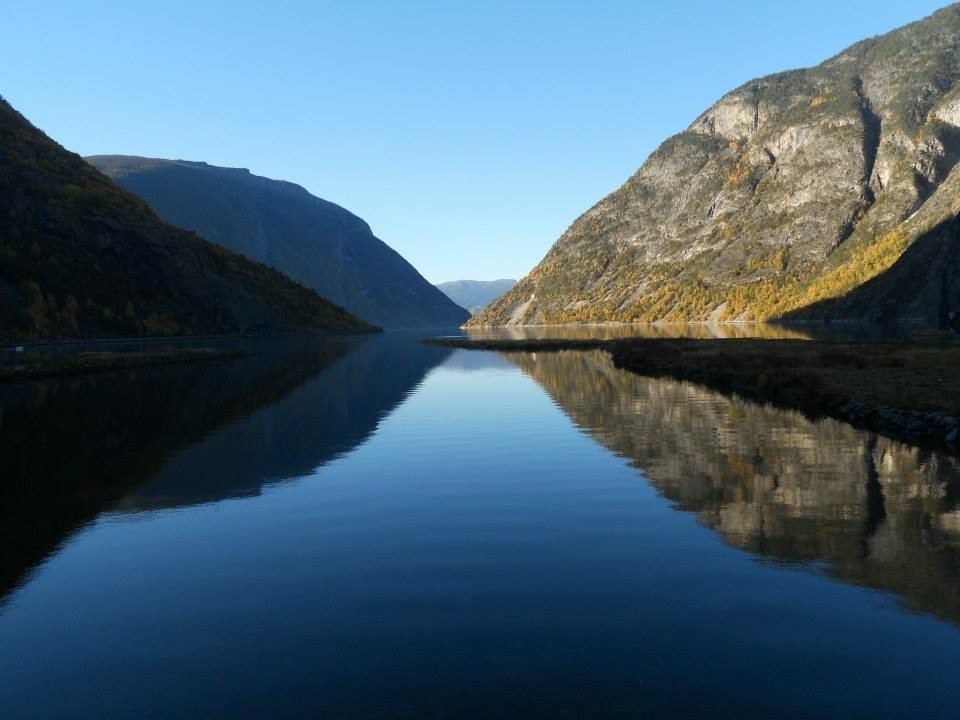 Leardal is situated in the Sognefjorden