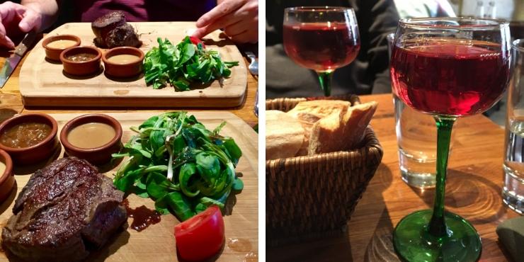 Sacre Fleur restaurant in Montmartre