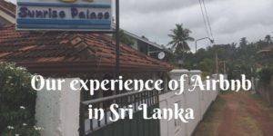 Visit Sri Lanka. Experiences of airbnb in Sri Lanka