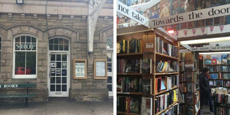 Barter Books in Alnwick