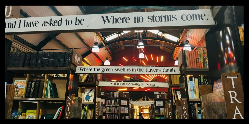 A novel experience – a visit to Barter books!