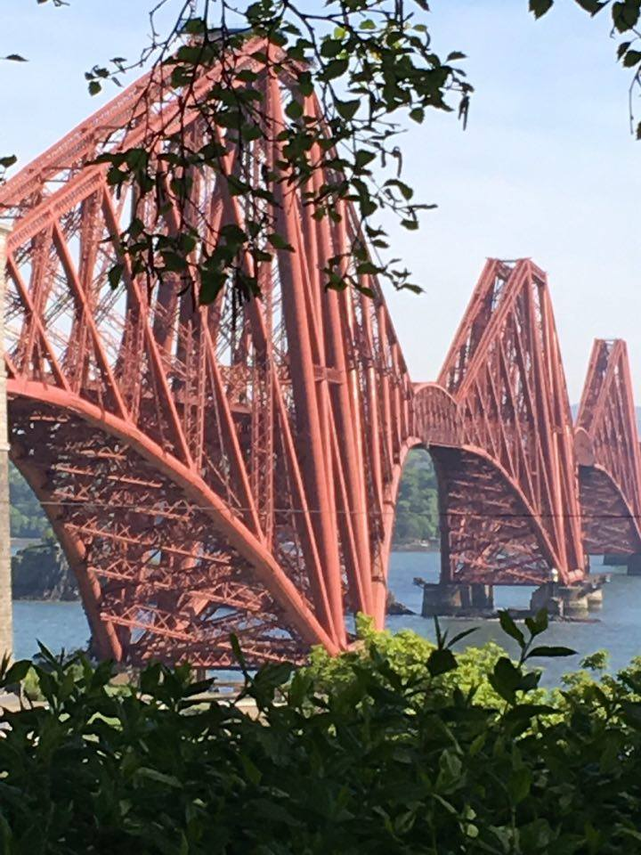Forth Rail Bridge close up