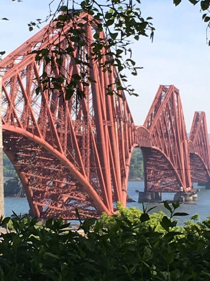Forth Rail Bridge close up
