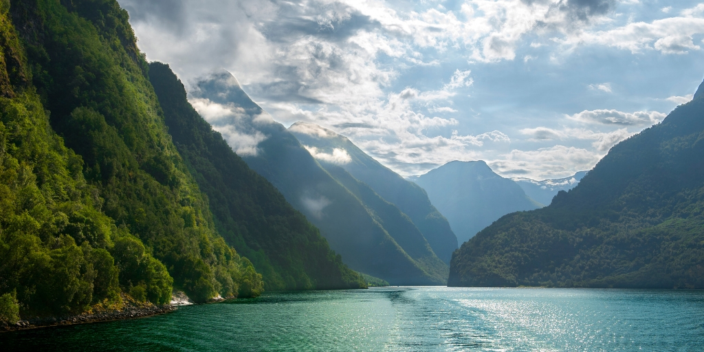 Naeroyfjord in Norway
