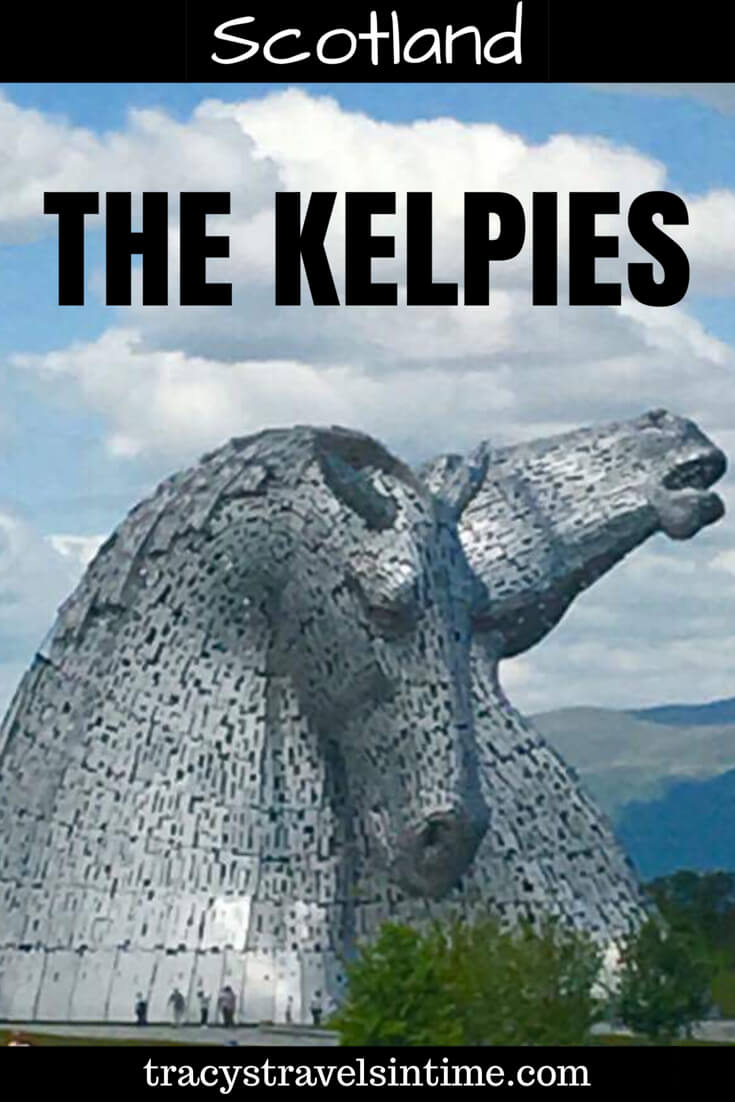The Kelpies in Falkirk Scotland