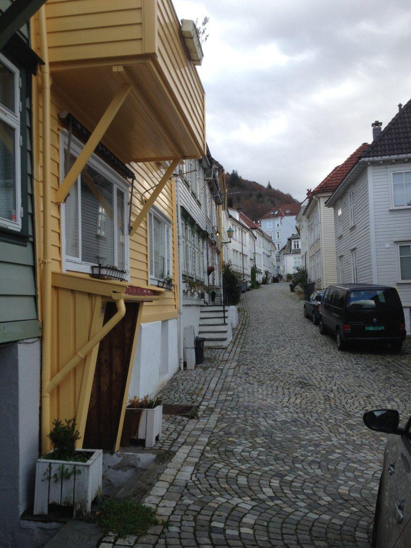 Bergen side street