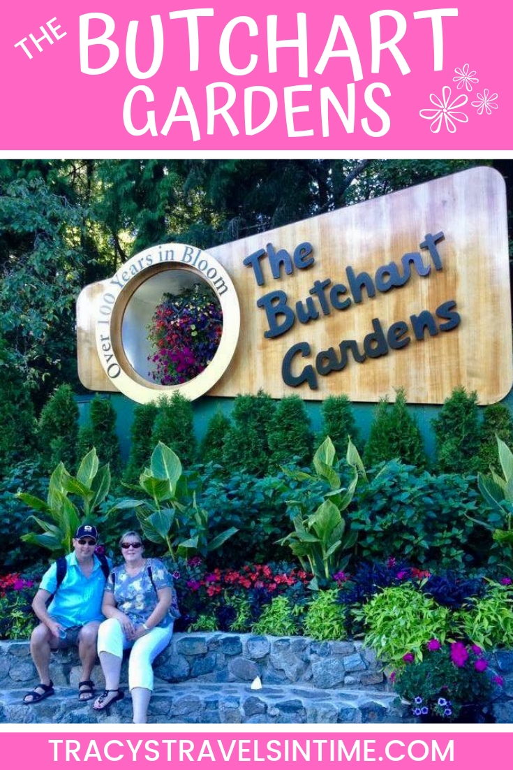 Visiting the Butchart Gardens on Vancouver Island