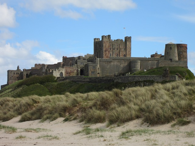 Bamburgh Castle- planning a drive up the Northumberland coastal route featured by international travel blog, Tracy's Travels in Time