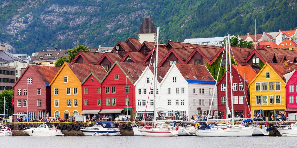 Bryggen in Bergen Norway