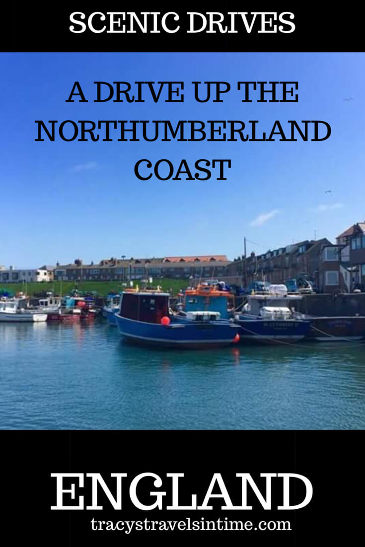 - planning a drive up the Northumberland coastal route featured by international travel blog, Tracy's Travels in Time