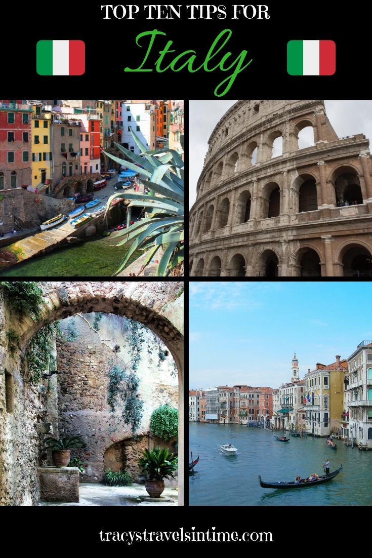 travel tips for Italy