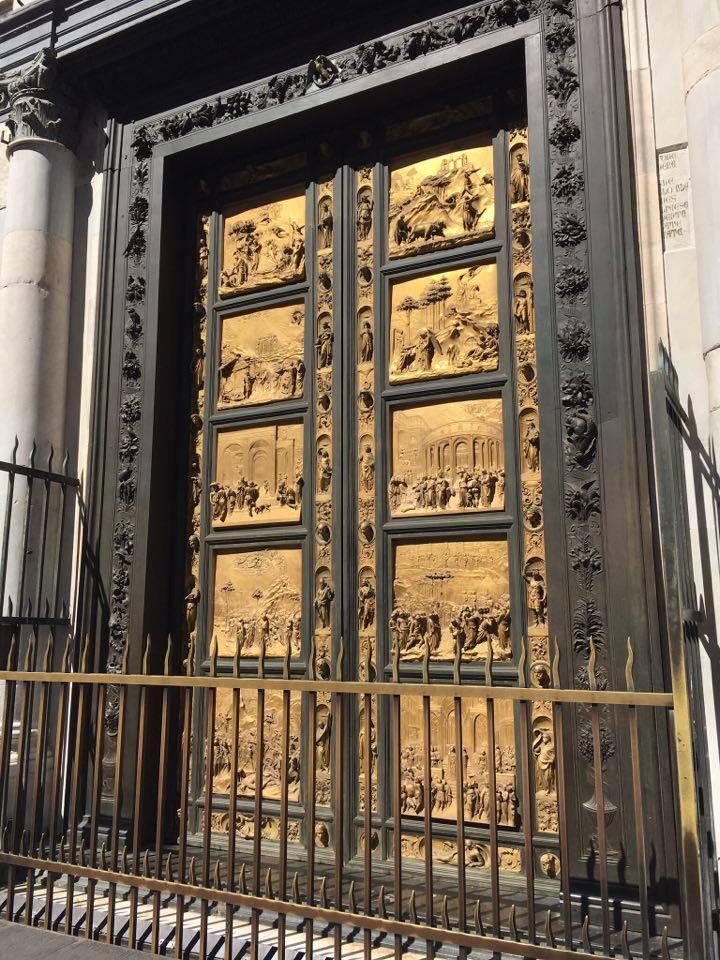 door of baptistery 2
