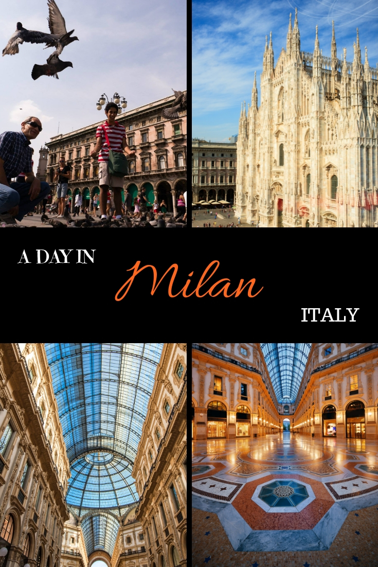 A DAY IN MILAN ITALY