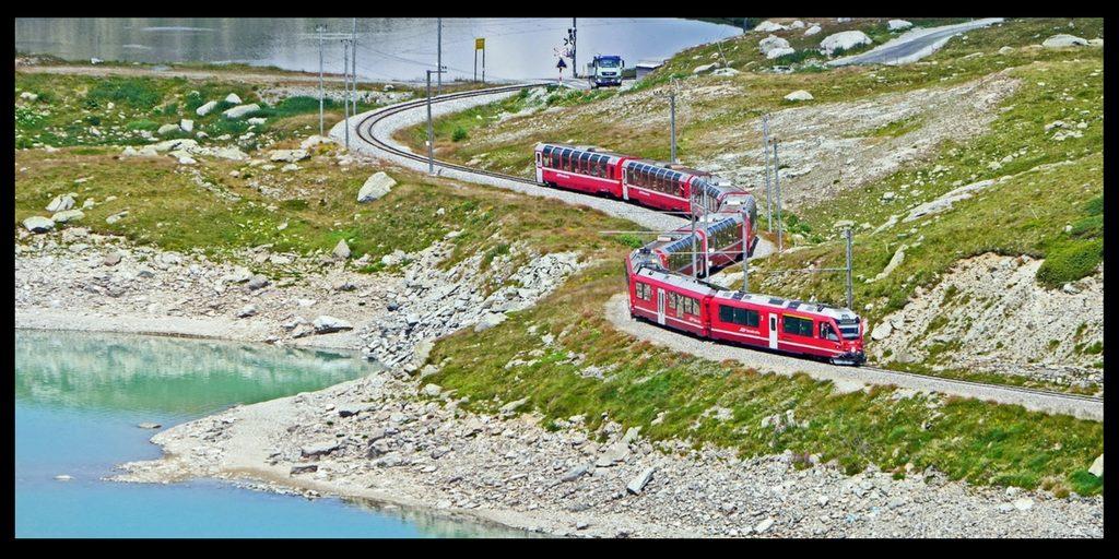 Traveling on the Bernina Express – Switzerland