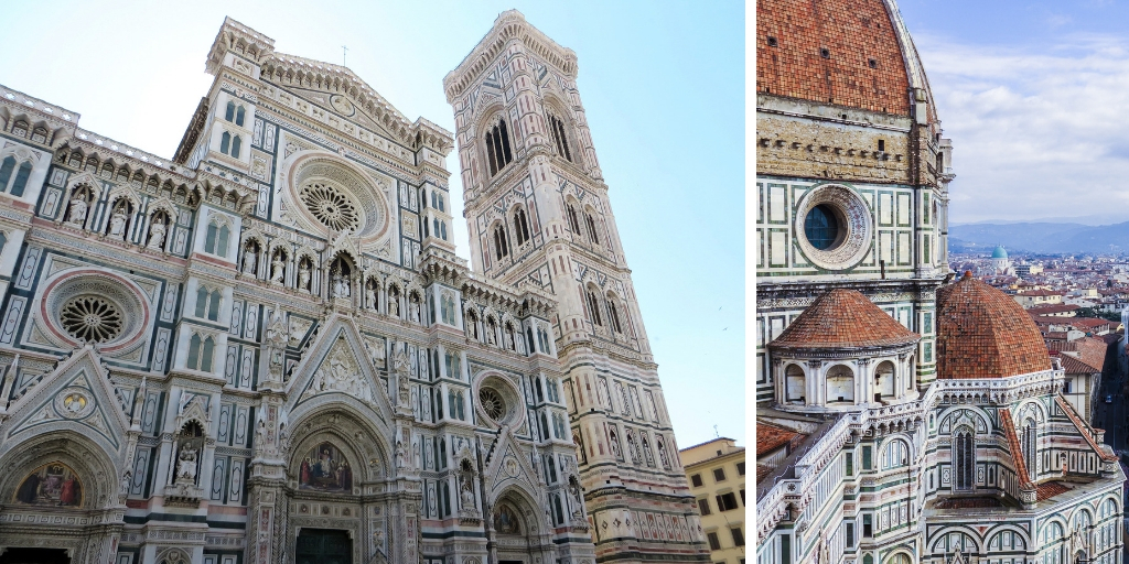 Things to see and do in Florence in 2 days featured by top international travel blogger, Tracy's Travels in Time: image of FLORENCE CATHEDRAL IN ITALY