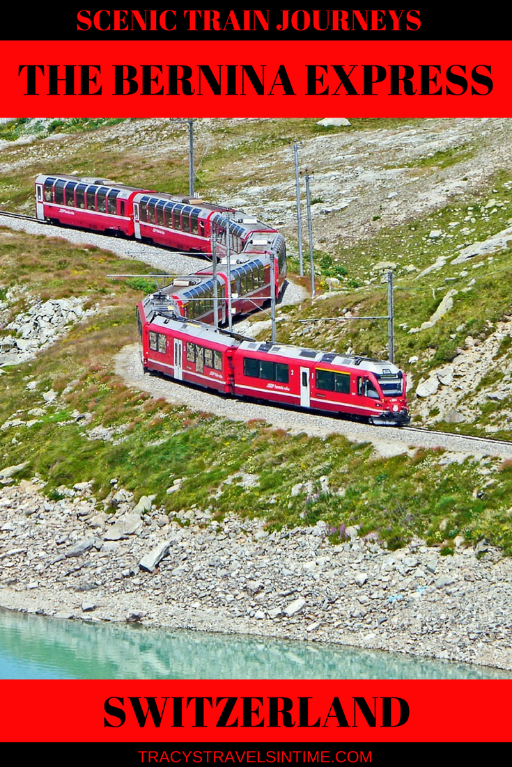 The Bernina Express one of the most scenic train journeys
