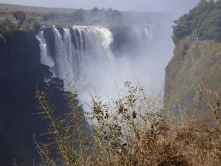 victoria-falls on our safari Botswana and Zimbabwe