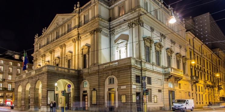 La Scala in Milan.