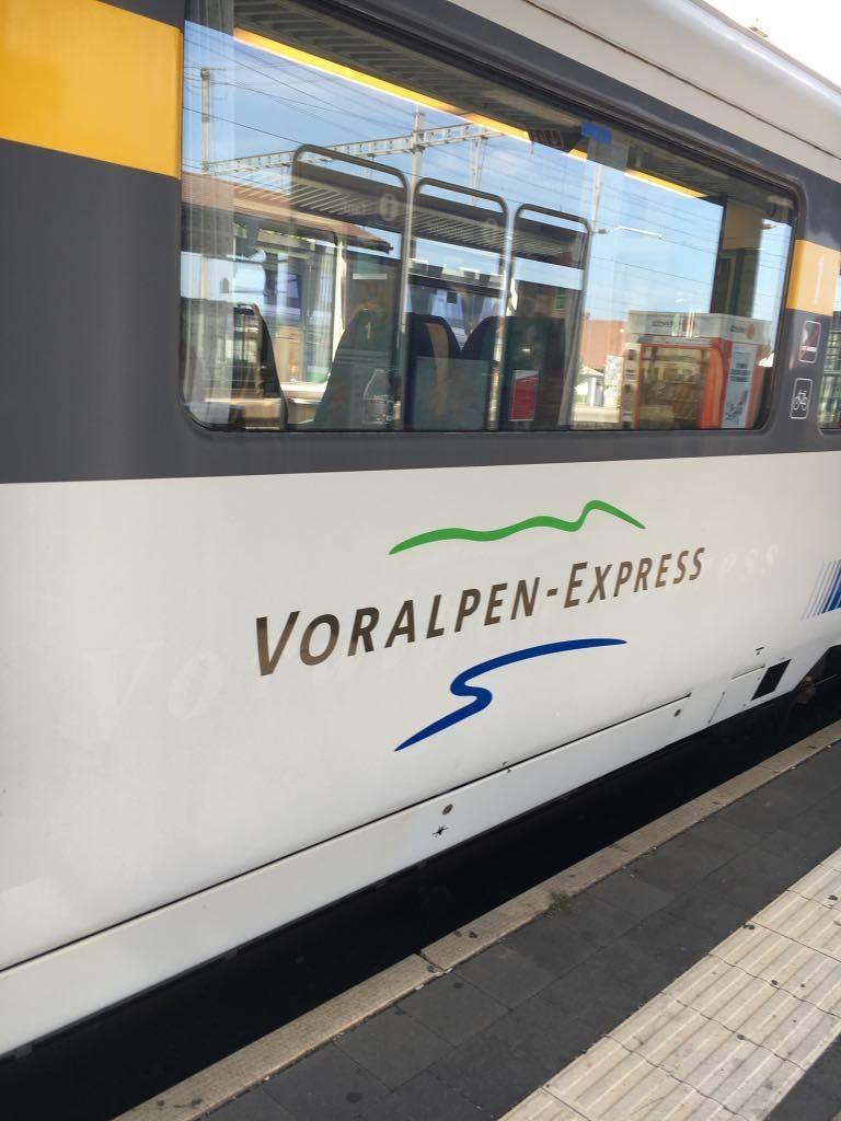 catching the Voralpen Express