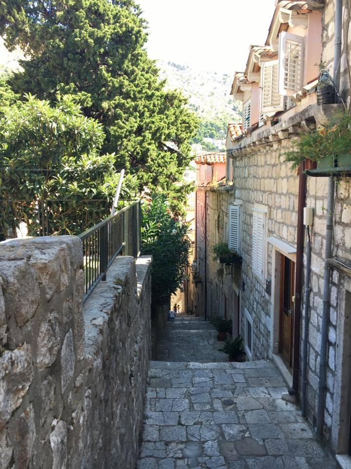 houses and street in Dubrovnik