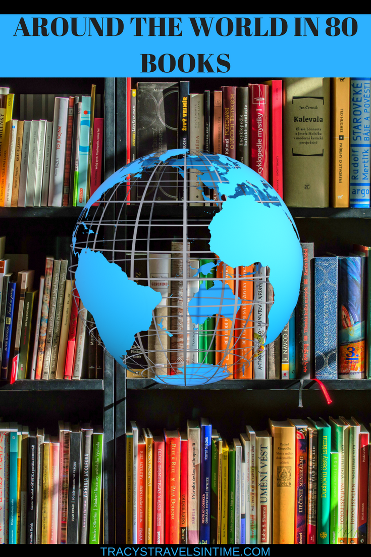 80 BOOKS FROM AROUND THE WORLD TO INSPIRE WANDERLUST - BEST TRAVEL BOOKS   BEST TRAVEL BOOKS featured by international travel blog, Tracy's Travels in Time