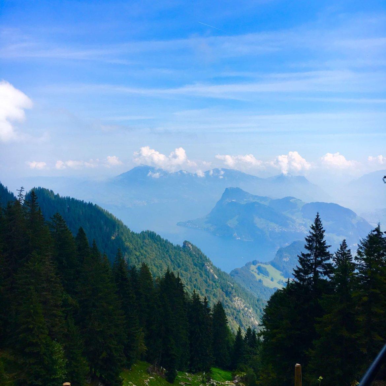 beautiful views from Mt Pilatus