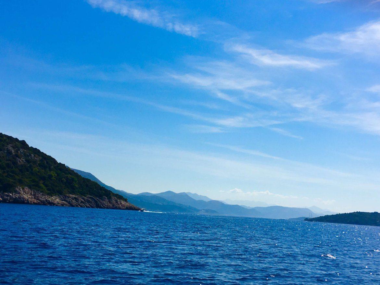 sailing the Elafiti Islands