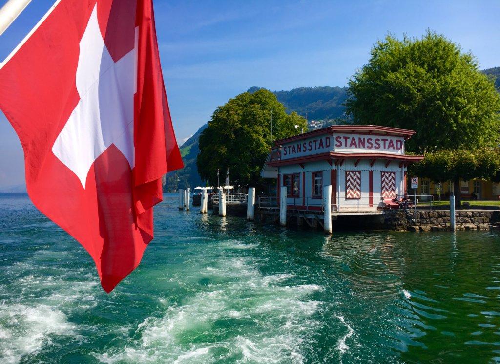 beautiful lake Lucerne