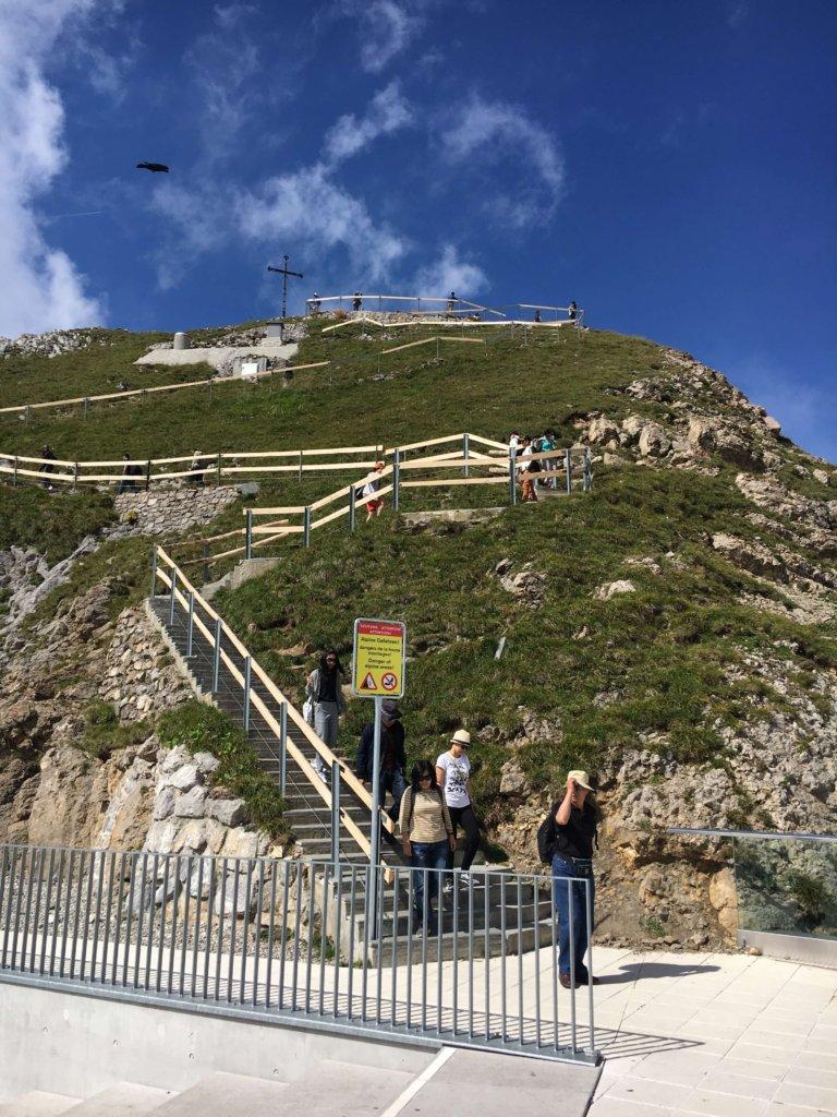 walks at the top of Pilatus