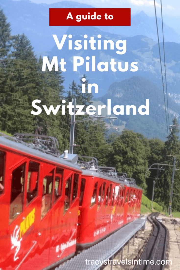 | Golden round trip to Mount Pilatus featured by top international travel blogger, Tracy's Travels in Time