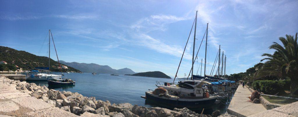 view of the Elafiti Islands