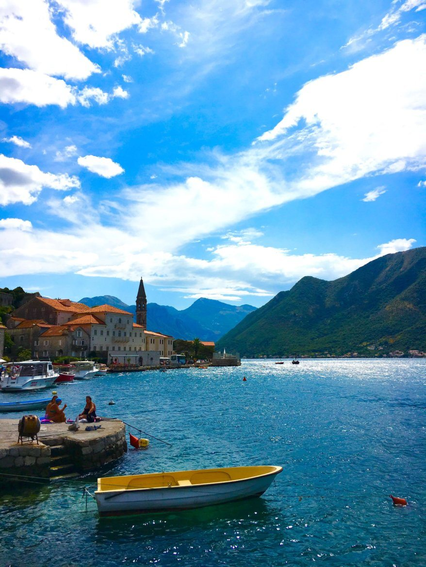 Perast in Montenegro - a day in Montenegro