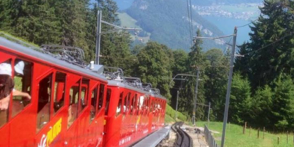 Golden round trip to Mount Pilatus featured by top international travel blogger, Tracy's Travels in Time