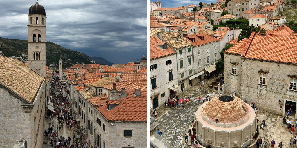 Dubrovnik old city in Croatia