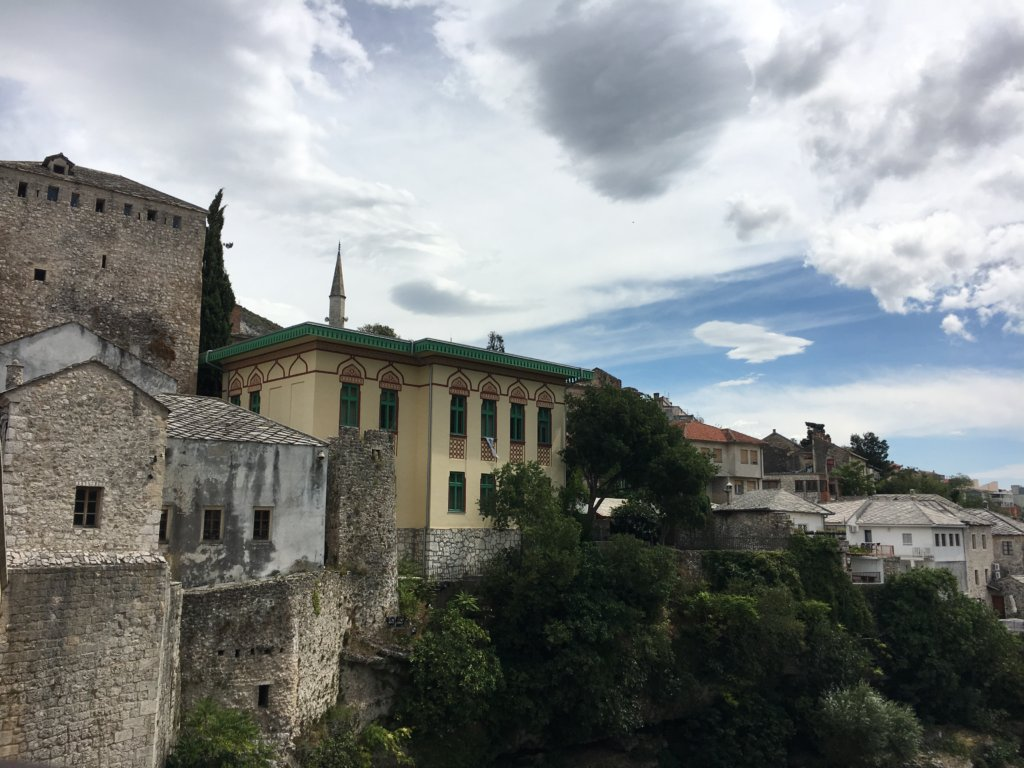 tracys travels in time buildings in Mostar