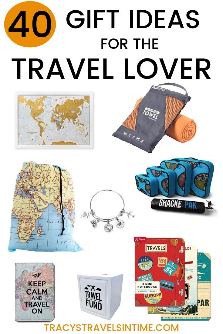 Travel gift ideas featured by top international travel blogger, Tracy's Travels in Time: