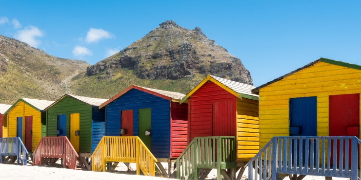 Beach huts in south africa = Things to do in Cape Town