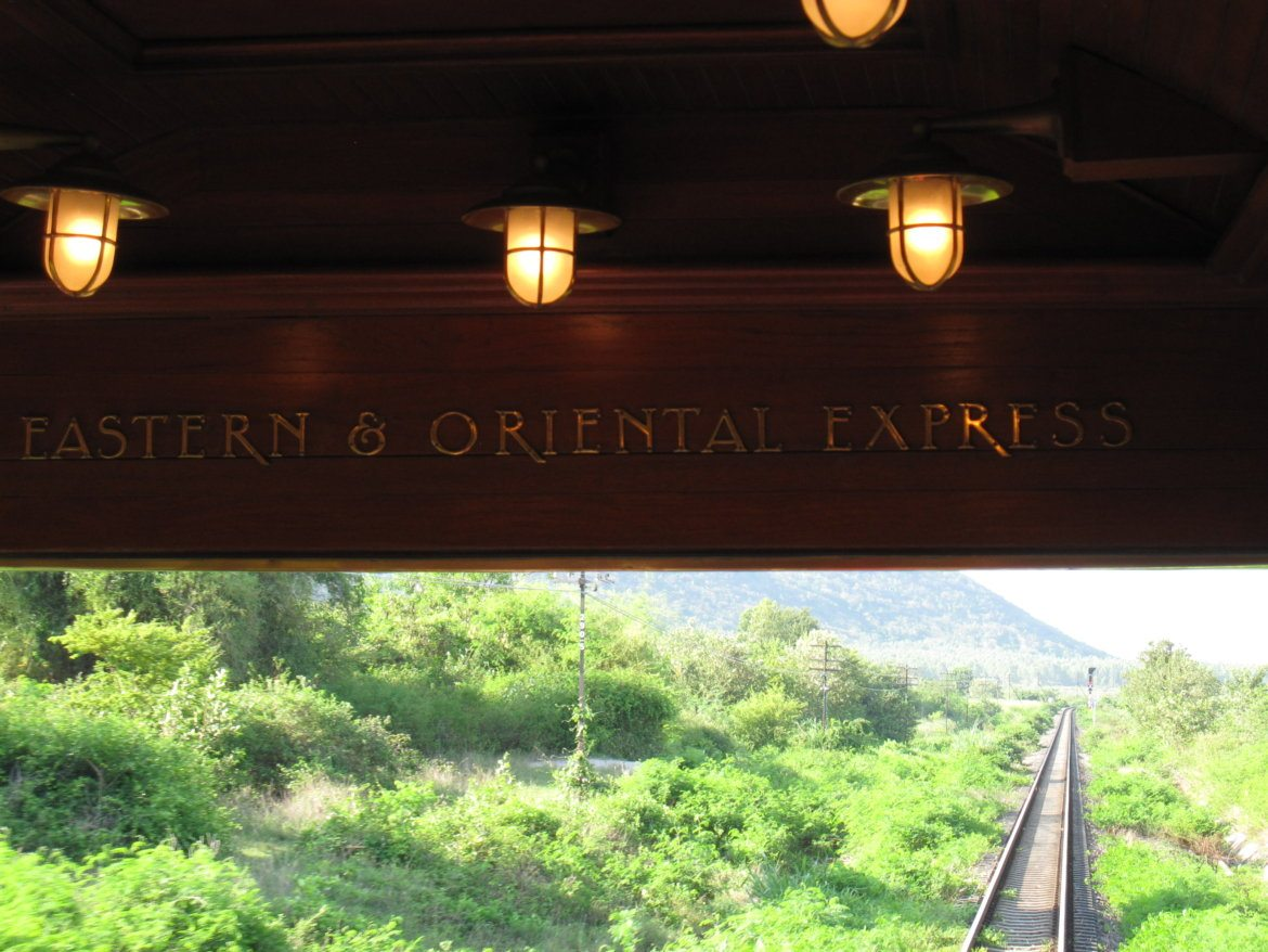 A trip on the Orient Express Bangkok to Singapore