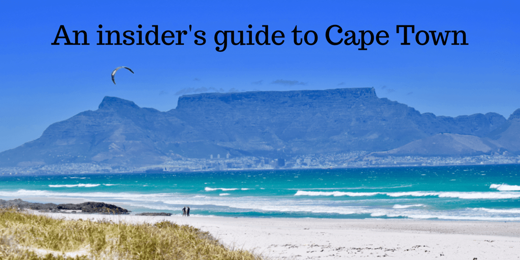 Insider guide to Cape Town
